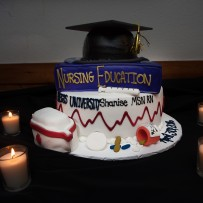 Shanise Jordan – Masters in Nursing Grad Party